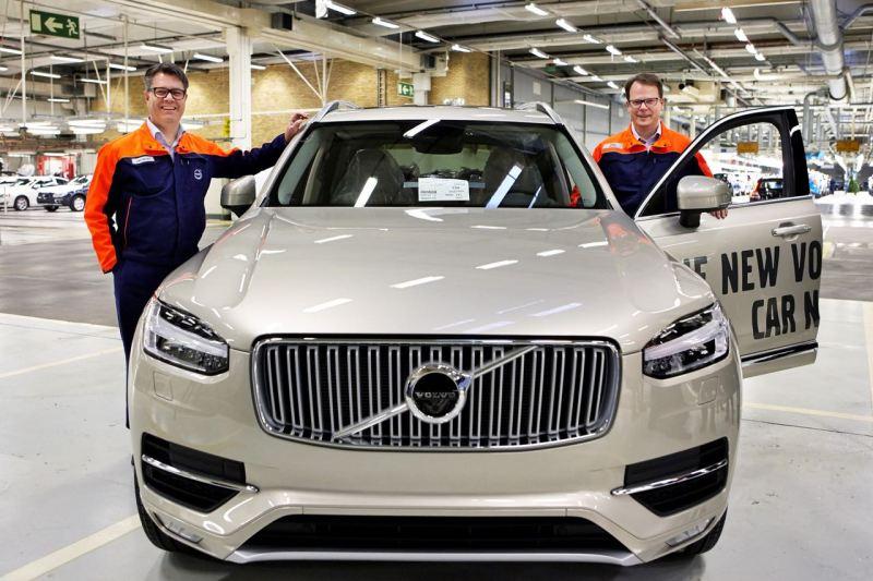 Mertens und Wrebo. Beide nicht mehr bei Volvo. Bild Volvo Cars.
