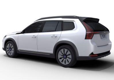 Der Hersteller sagt, es wäre ein SUV. Bild: NEVS