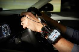 XC40 teaser - Volvo Cars' User Experience Lab. Bild: Volvo