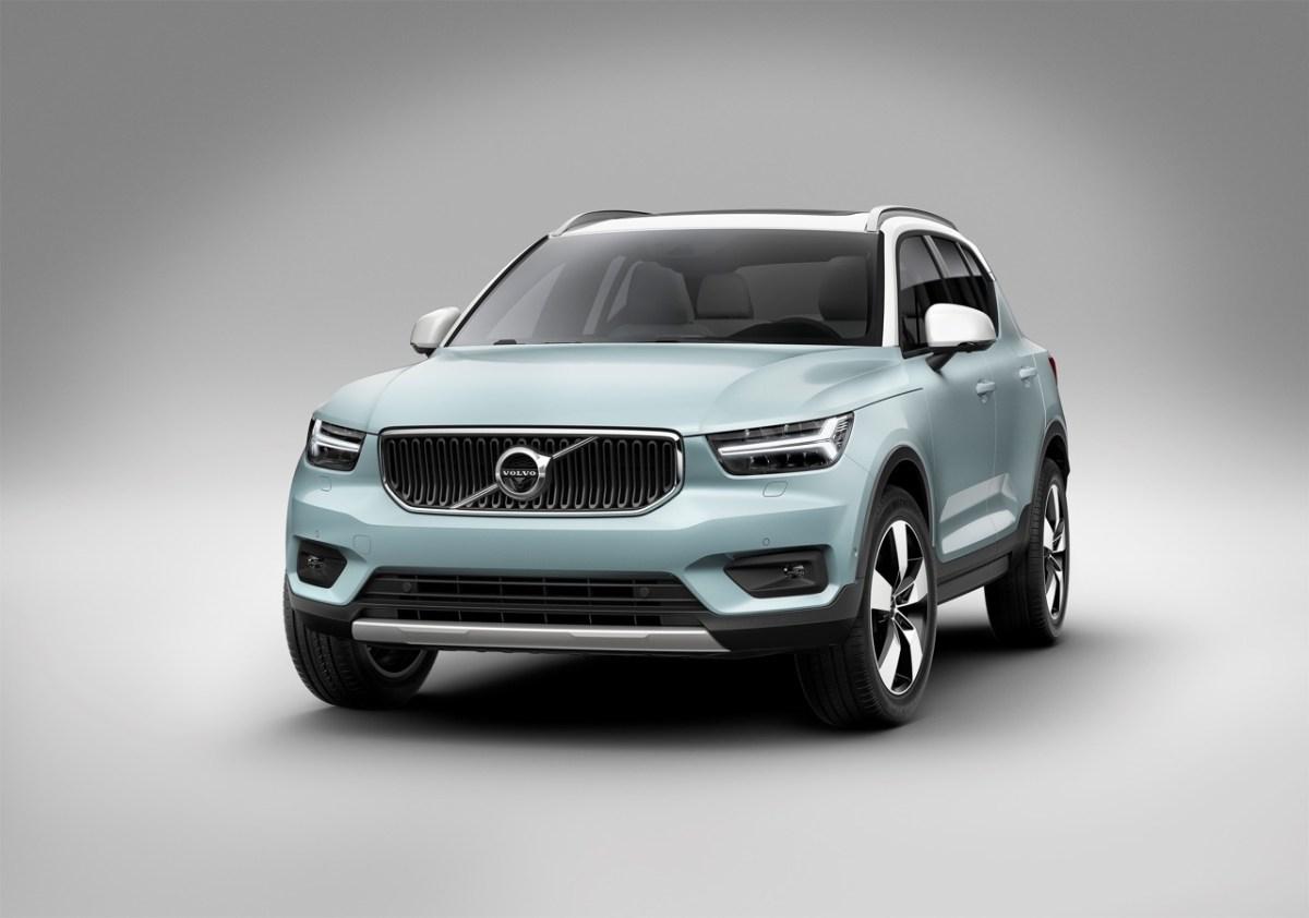Da ist er. Der neue Volvo XC40.