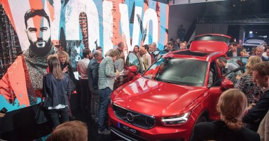 Volvo XC40 #XCITENIGHT in Frankfurt