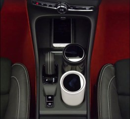 Cupholder im neuen XC40. Bild: Volvo via FB