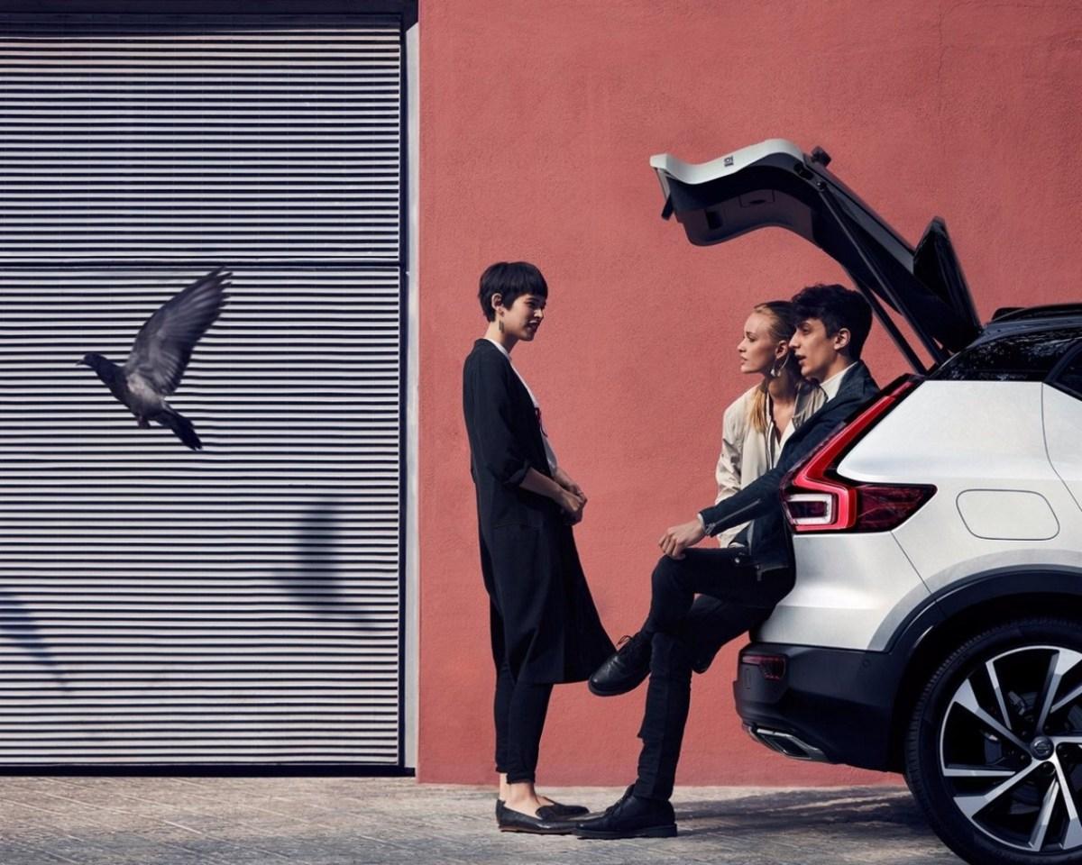 21. September. Mailand. Volvo XC40 Premiere.