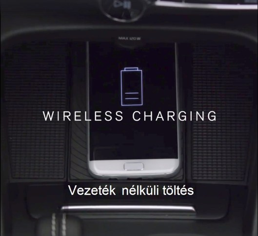 Wireless Charging. Bild: Volvo via FB
