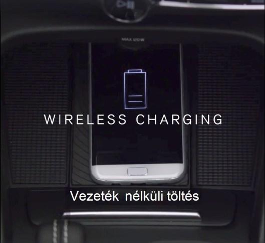 Wireless Charging. Bild: Volvo via FB
