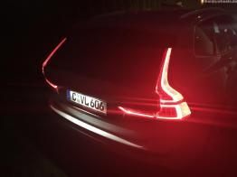 Typische Volvo Signatur der Heckleuchten.