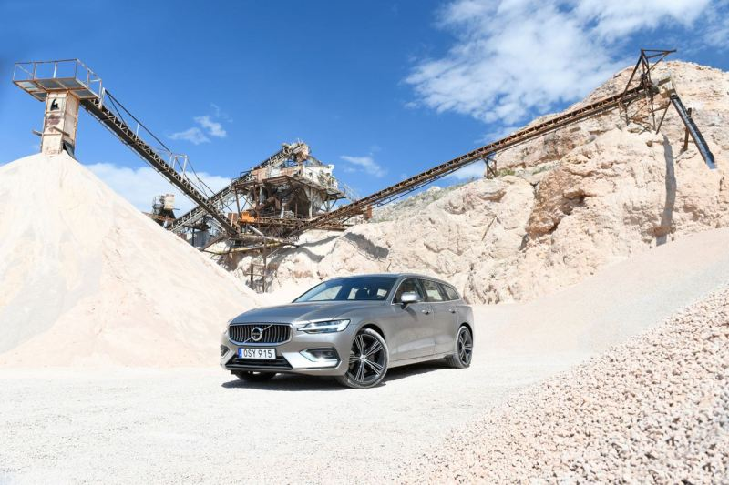 Die Produktion des Volvo V60 T5 beginnt Ende August