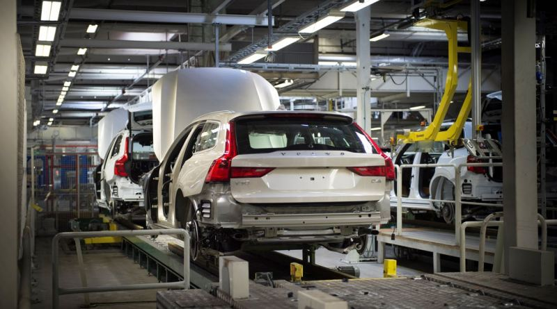 Volvo V90 Produktion in Torslanda