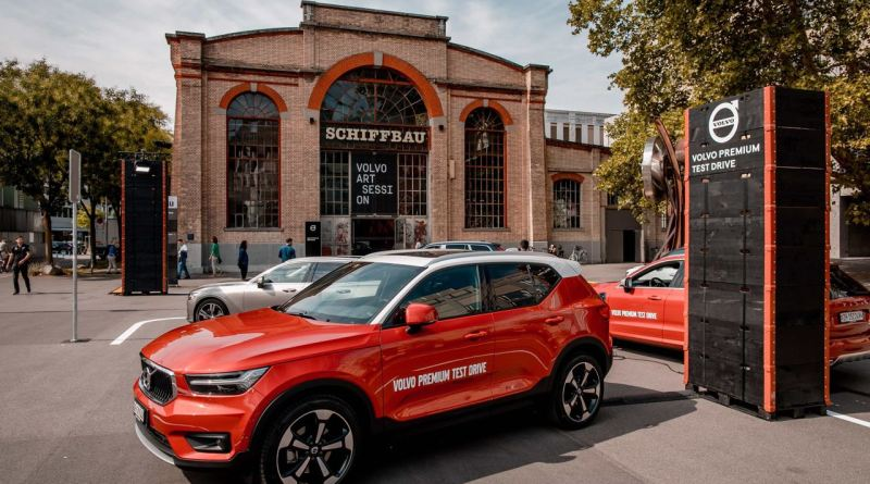 XC 40 & Volvo Art Session 2018: Schiffbau
