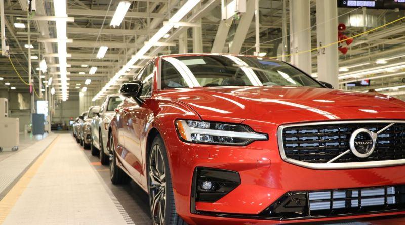 Volvo fährt die Produktion des S60 hoch