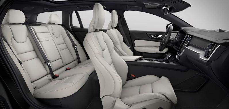 Gediegen - sportliches Interieur im neuen Volvo V60 CC
