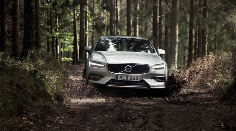Der neue Volvo V60 Cross Country soll auch für leichtes Gelände geeignet sein