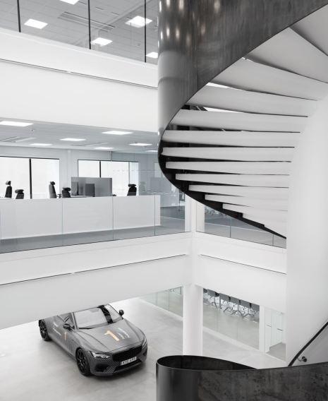 Entworfen wurde das Gebäude vom Architekturbüro Bornstein Lyckefors