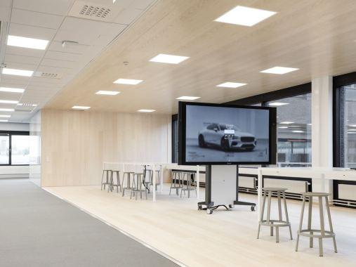 Die neue Polestar Zentrale in Göteborg