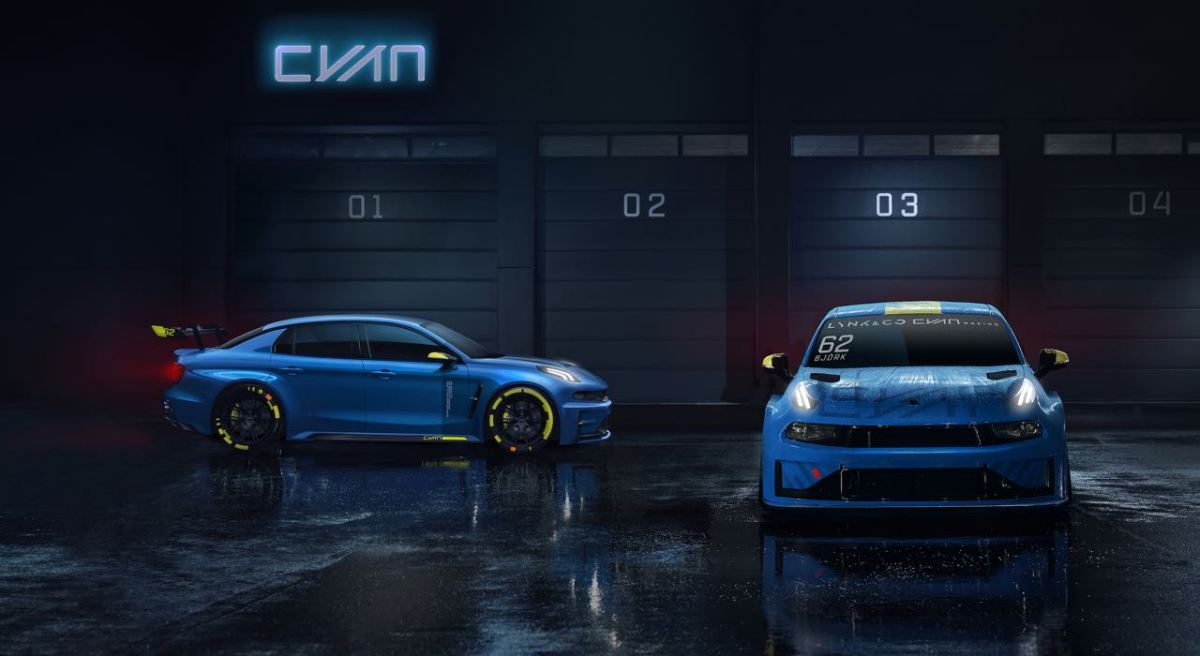 Lync 03 TCR Race Car und 500 PS Concept
