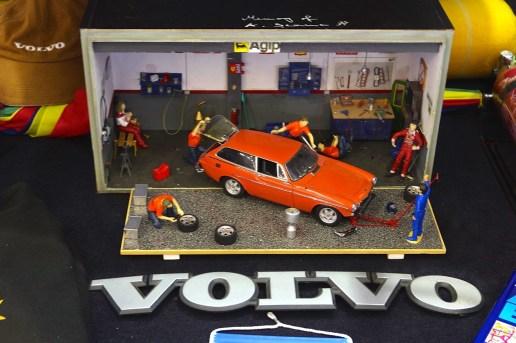 Im Detail: Volvo Werkstattszene