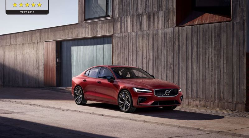 5 Sterne für den Volvo S60 im Euro NCAP Test