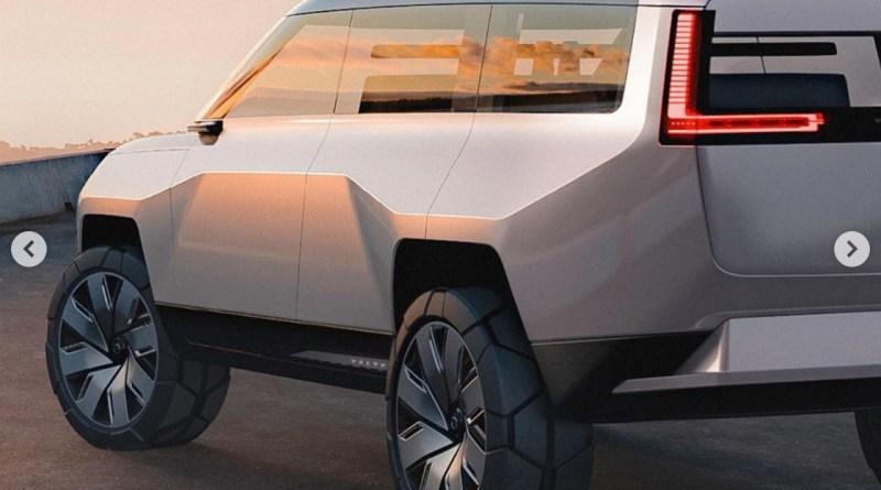 Die Bodenfreiheit des SUV Camper ist beachtlich