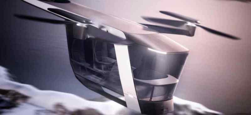 Volvo Abisko ist eine elektrisches vertikales Start- und Landefahrzeug (eVTOL)