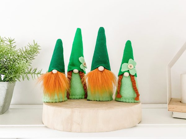 St. Patricks Day Gnomes