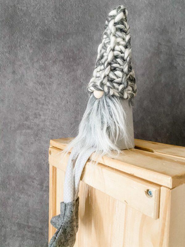Gray Chunky Knit
