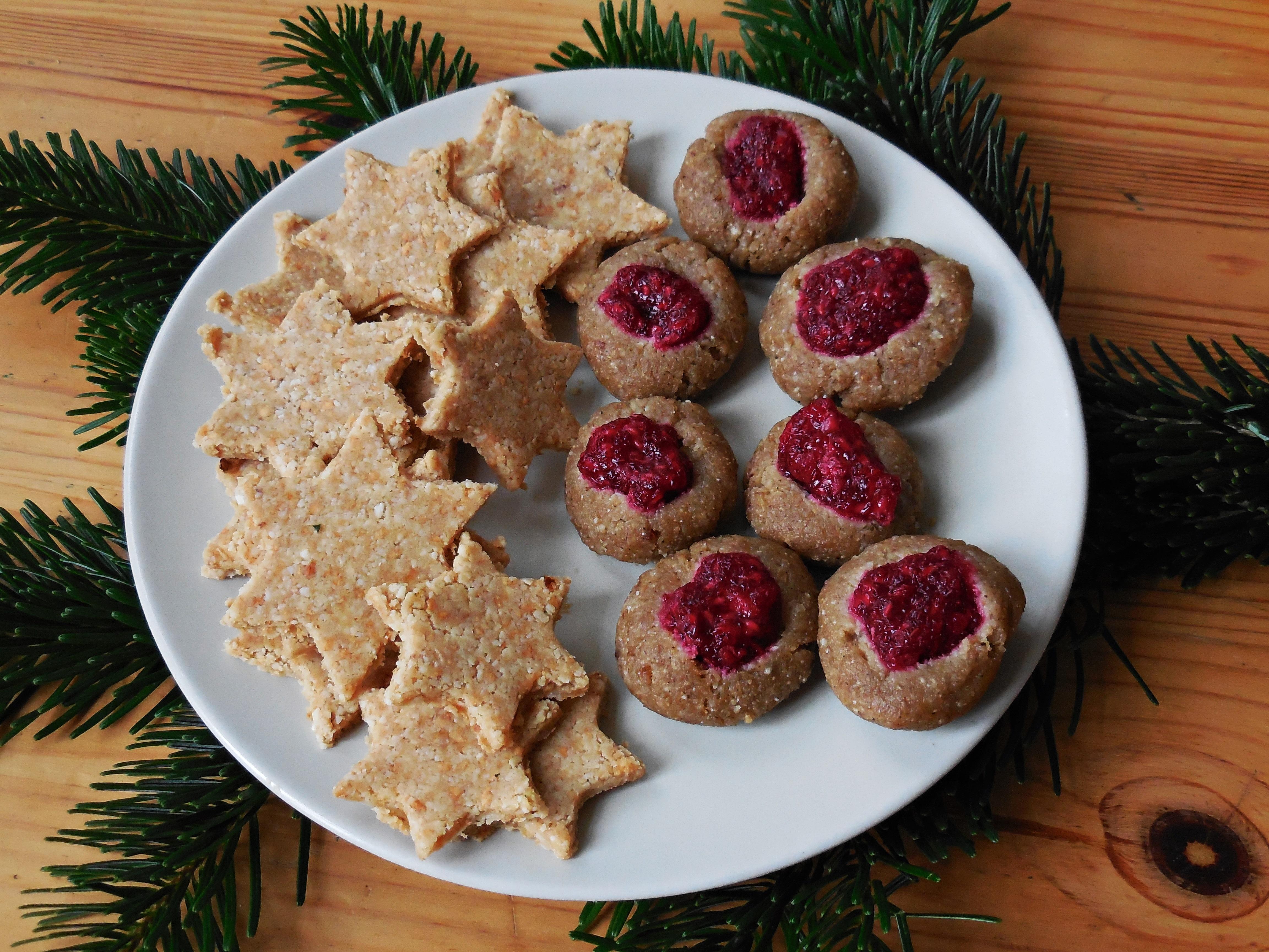 Weihnachtskekse Engelsaugen.Rohkost Rezept Köstliche Weihnachtskekse Nordisch Roh