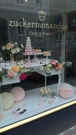 Die Zuckermonarchie organisiert auch Candie-Bars für Hochzeiten und andere Feiern