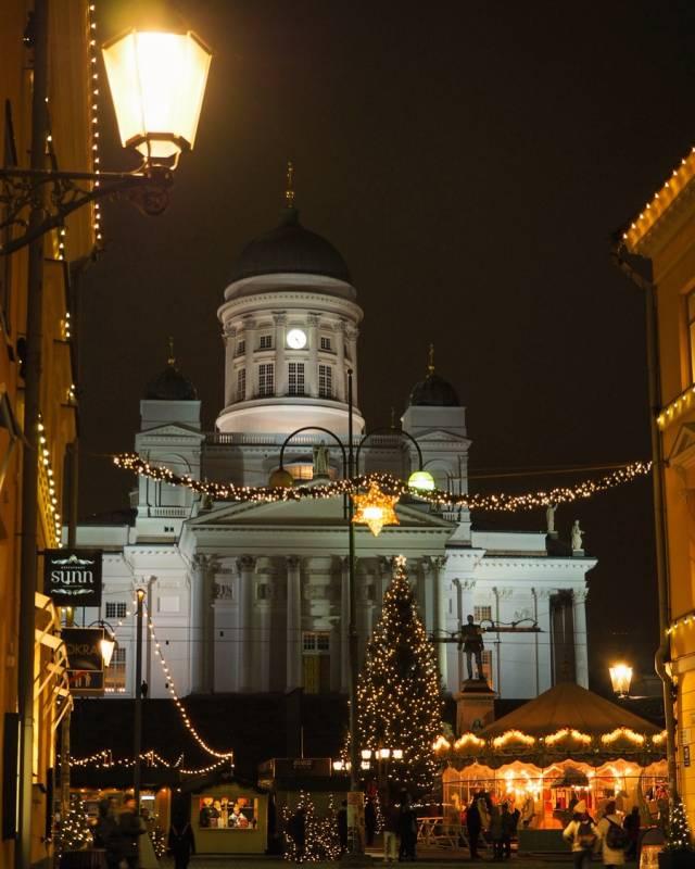 Helsinki zur Vorweihnachtszeit