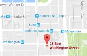 25 E Washington Map