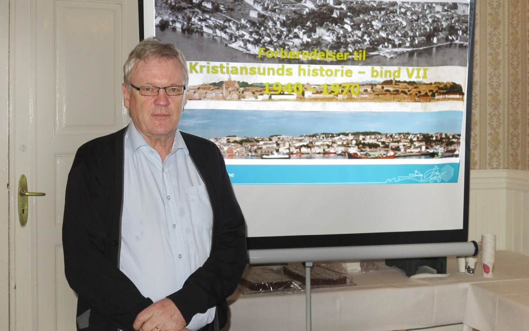 Stor interesse for det nye bindet i Kristiansunds historie.