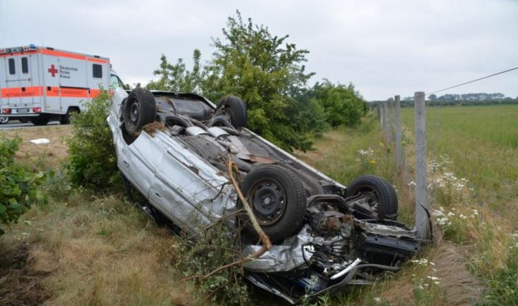 Unfall auf der A 31 - Zwischen Wietmarschen und Lingen Richtung Bottrop Foto: NordNews.de