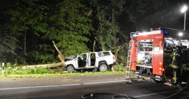 Aktuell - Bawinkel - Schwerer Unfall zwischen Bawinkel und Meppen Foto: NordNews.de