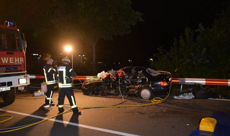 Schwerer Verkehrsunfall auf der Bentheimer Straße in Nordhorn Foto: NordNews