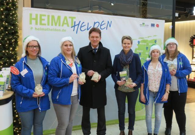 Ems-Achse im Lingener Lookentor - Rückkehreraktion macht auf Karrierechancen in der Region aufmerksam Foto: Stadt Lingen