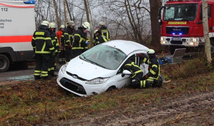 Aktuell PKW überschlägt sich in der Diekseestraße Foto: NordNews.de