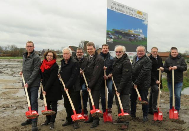 Neues Nahversorgungszentrum in Brögbern - Wohn- und Gewerbegebiet wird Ortsteil maßgeblich verändern Foto: Stadt Lingen