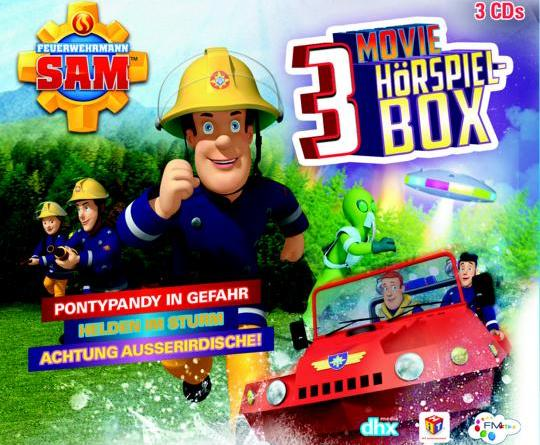 FEUERWEHRMANN SAM – 3 CD Movie Hörspiel-Box Ab 04. Mai 2018 auf CD