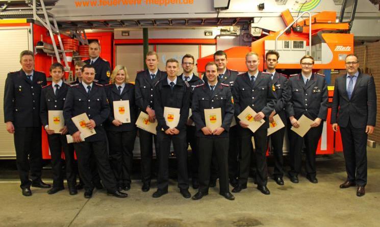 Fast jeden Tag einen Einsatz für die Feuerwehr Meppen Mitgliederversammlung der Feuerwehr Meppen fand am vergangenen Freitag statt