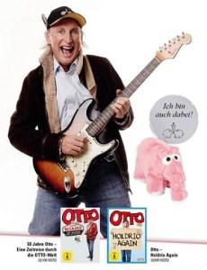 """OTTOs Comeback zum 70. Geburtstag – Fan-Box mit """"Holdrio Again"""", """"50 Jahre Otto"""" und dem weltbekannten Ottifant als Plüschtier"""