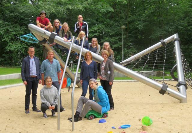 """Spielplatz """"An der Wilhelmshöhe"""" neu gestaltet Foto: Stadt Lingen"""