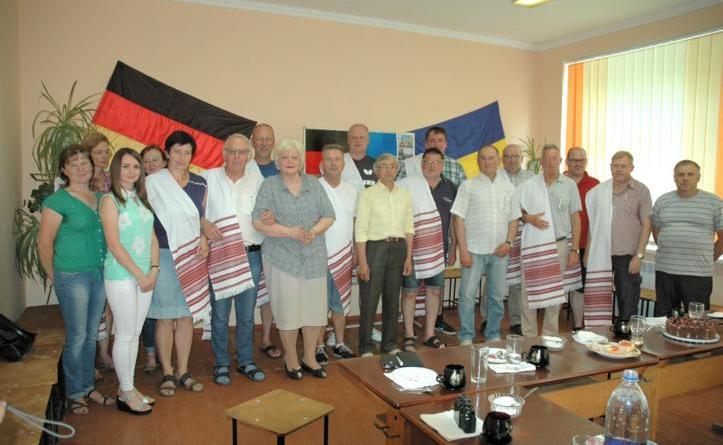 """38. Hilfsgütertransport des """"Freundeskreises der Ukrainefahrer"""" - Große Dankbarkeit in der Bevölkerung für die Hilfe Foto: Stadt Lingen"""