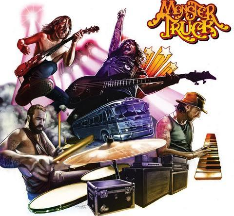 "Monster Truck - brandneues Album ""True Rockers"" am 14. Septmber via Mascot Records / Mascot Label Group"