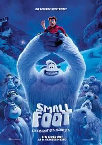 SMALLFOOT - ab dem 12. Oktober auch in Meppen im Kino - cooler Film für die ganze Familie