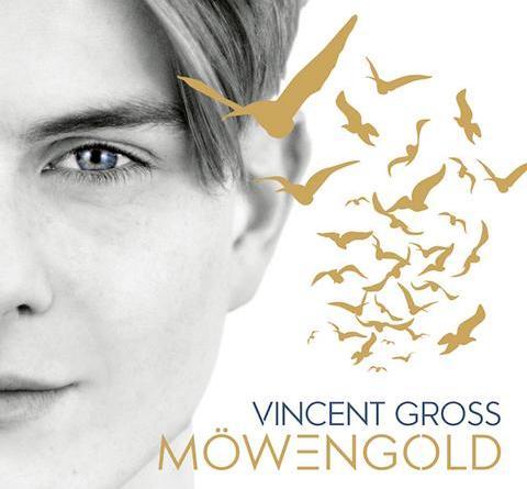 """VINCENT GROSS - """"Möwengold"""" - Das neue Album des Schweizer Shootingstars ab 10. August 2018 im Handel"""