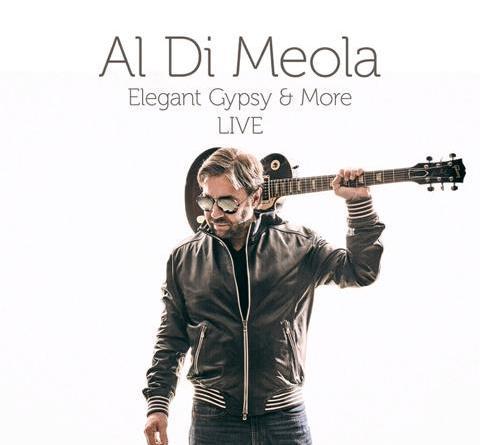"Al Di Meola mit Pre-Listening zu seinem neuen Live-Album ""Elegant Gypsy & More LIVE"""