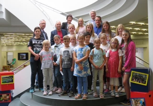 Eröffnung der Fotoausstellung zum Ferienpass 2018 Foto: Stadt Lingen
