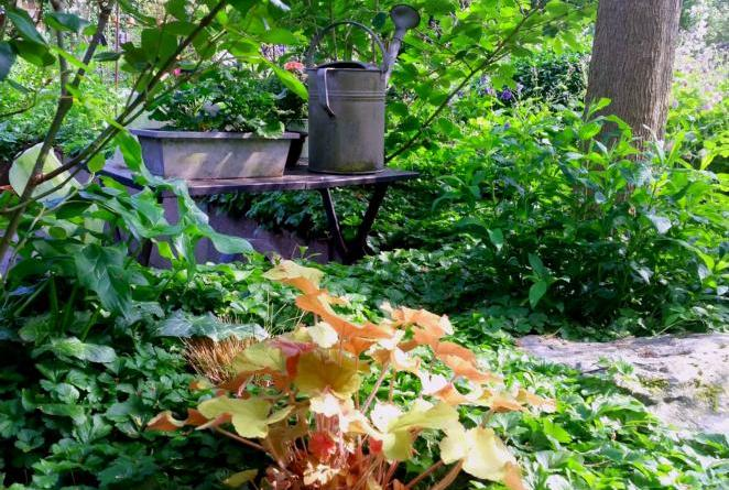 Gartenidyllmalerei Foto: Stadt Papenburg