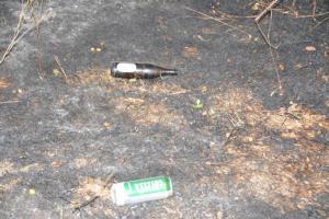 Sichergestellte Bierflasche - Dose Foto: NordNews.de