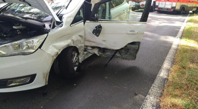 Unfall in Lingen - Schepsdorf - Nordlohner Straße Foto: NordNews.de