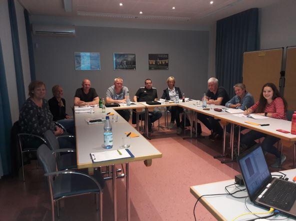 Qualifix-Seminar Sportverein und Ganztagsschule - Die Teilnehmer freuten sich über einen informativen Austausch in der Sportschule Emsland in Sögel. Foto: KSB